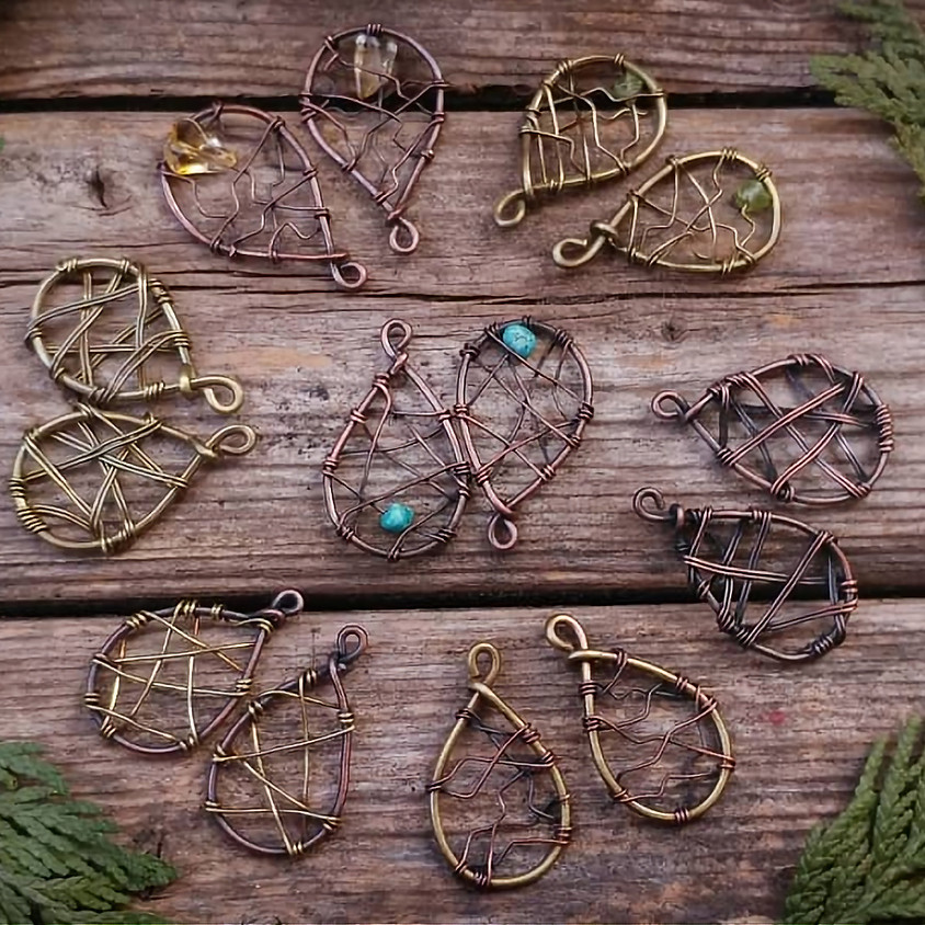 WIRE N WINE: Two Tone & Patina