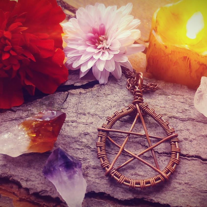 WIRE N WINE- Witch's talisman
