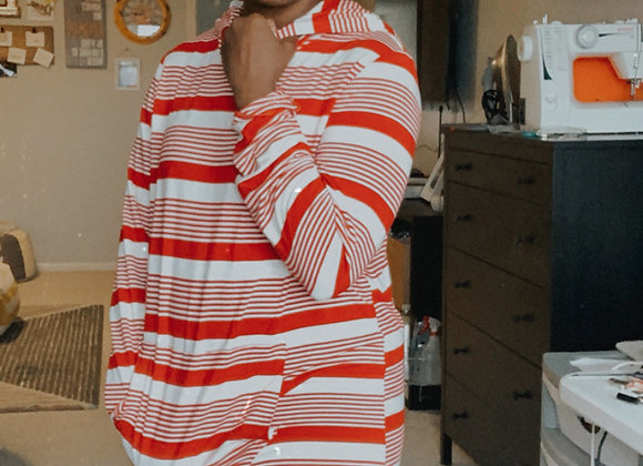 NewLook6529 - Red White Stripe