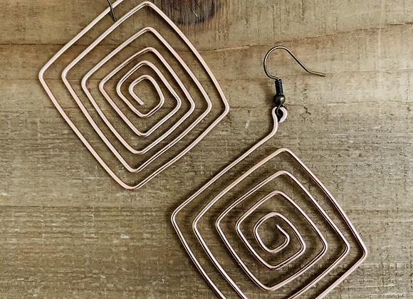 Aspen - Square Wire Earrings