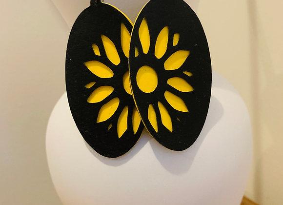 Sunflower Earrings - Large