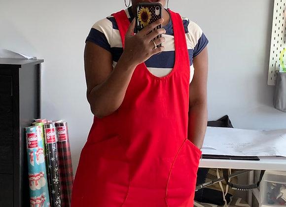 Rose Pinafore Dress