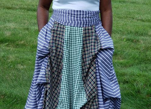 Honesty Long Paneled Skirt