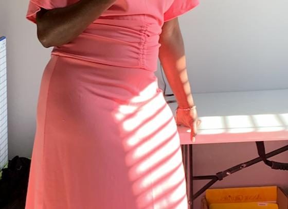 Simplicity8688 - Pink Dress