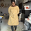 Thumbnail: Maven French Dart Dress - Yellow Paisley