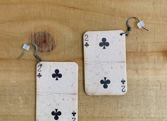Yarrow - Vintage Cards Earrings