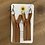 Thumbnail: Carnation - Zipper Earrings