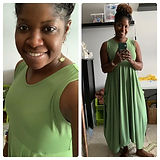 🌻 Sew I made this summer maxi dress fro