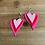 Thumbnail: Heart Earrings (Felt)