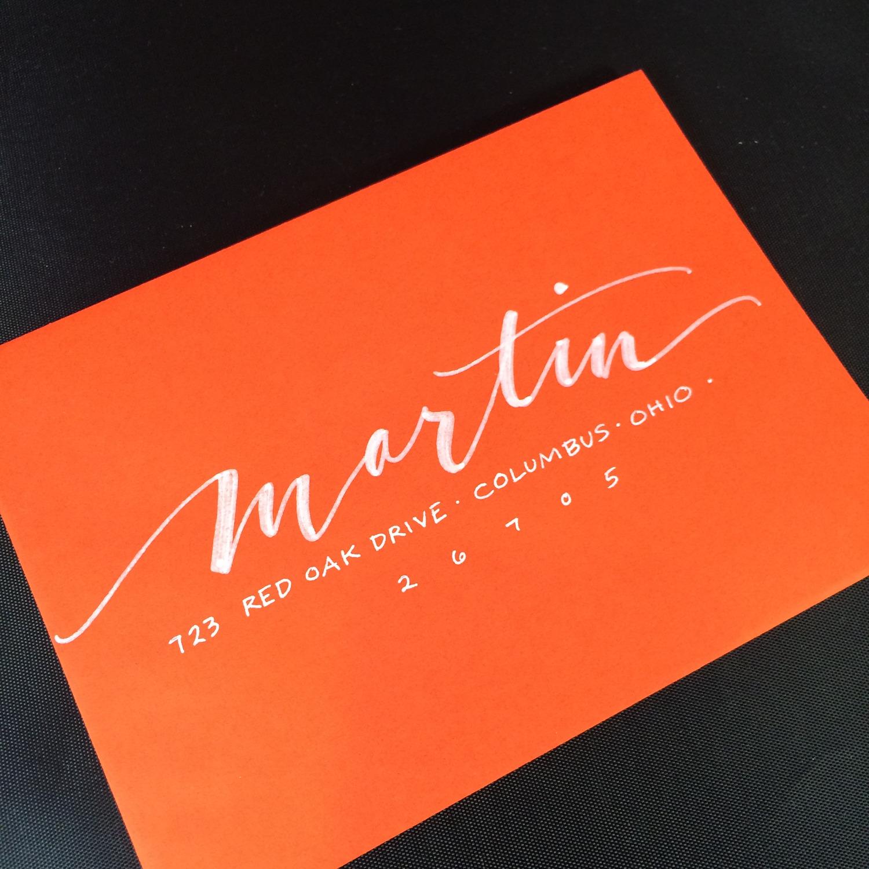 Martin envelope style