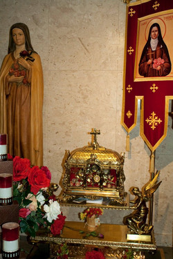 St Therese Indoor Shrine