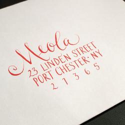 Meola envelope style
