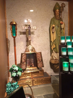 Saint Patrick Indoor Shrine