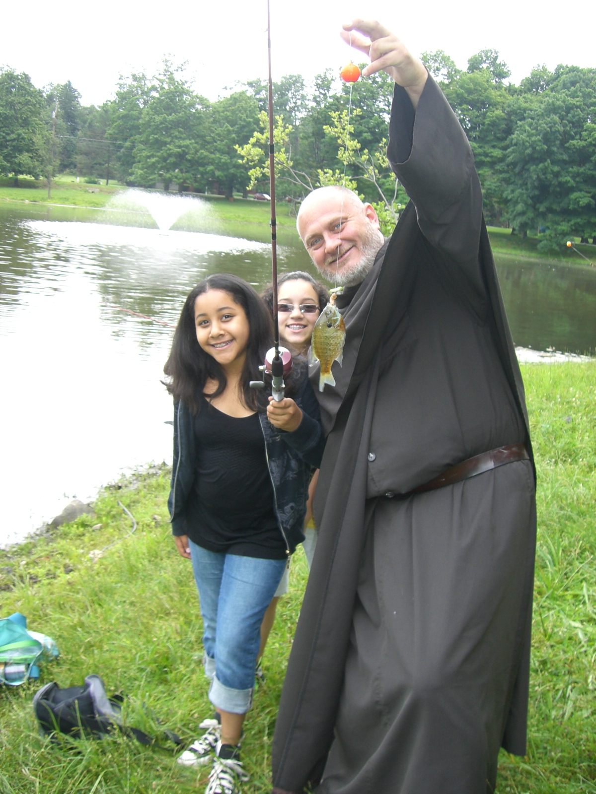 Fishing with Br. Robert