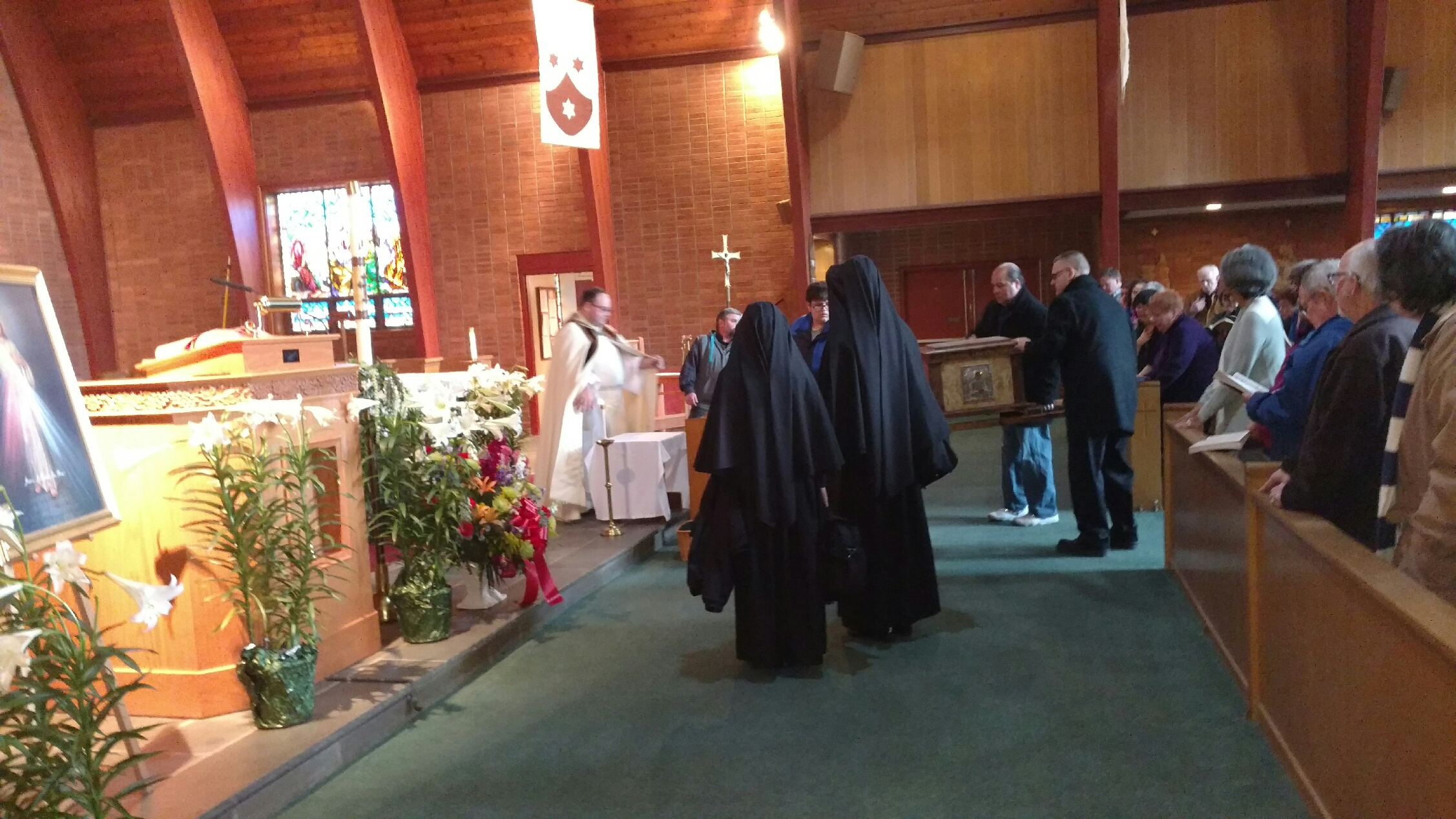 Presentation of St. Faustina Relics