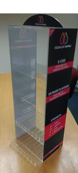 Acrylic E-Cig Display Stand