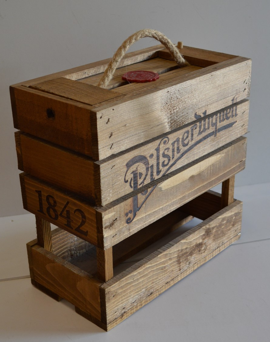 Branded Display Crate