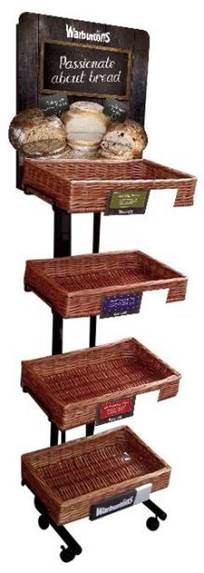 Warburtons Speciallty Bread POS Stand