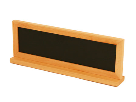 Chalkboard for Counter Top Display Stand