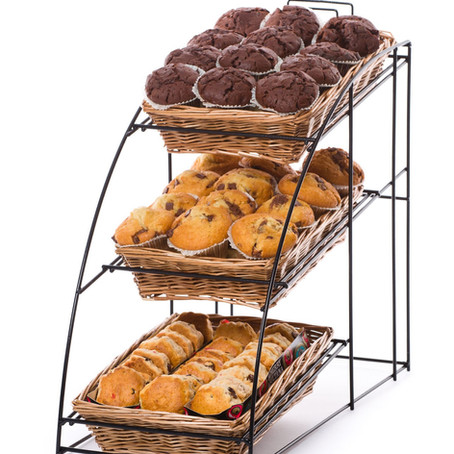 Counter Top Bakery Stands