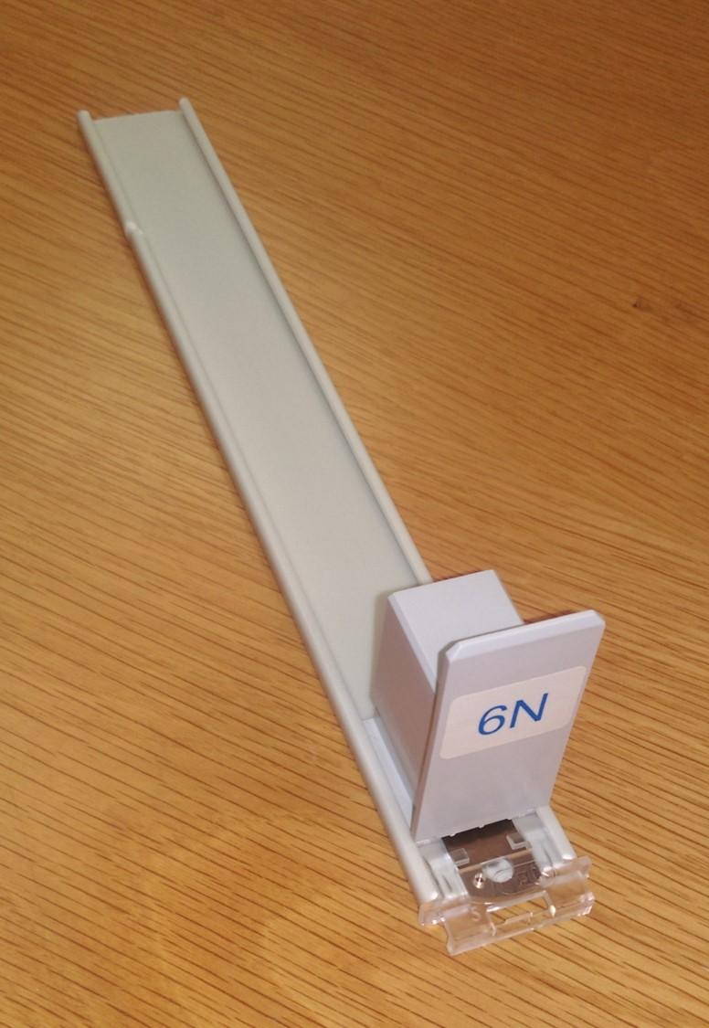 6N Pusher on 250mm slide rail