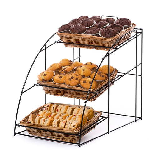 DWD-W3LC  3 Tier Counter Top Display Stand