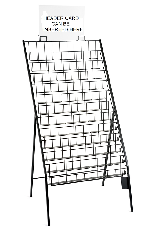 DWD-WS11 - Floor Standing Display Stand