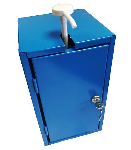 Lockable Wall Fixed Hand Sanitizer Dispenser Cabinet