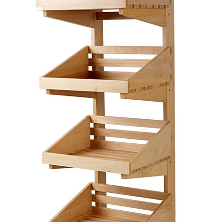 Wicker & Wooden Crate Display Stands