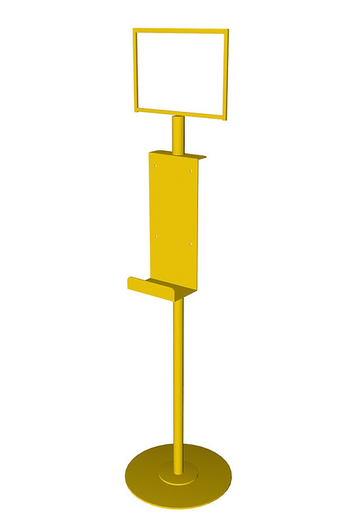 Freestanding Hand Sanitizer Dispenser Stand