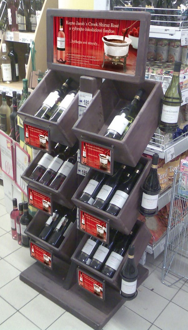 6 Bin Wine Bottle Stand