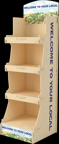 Ply Display Stand