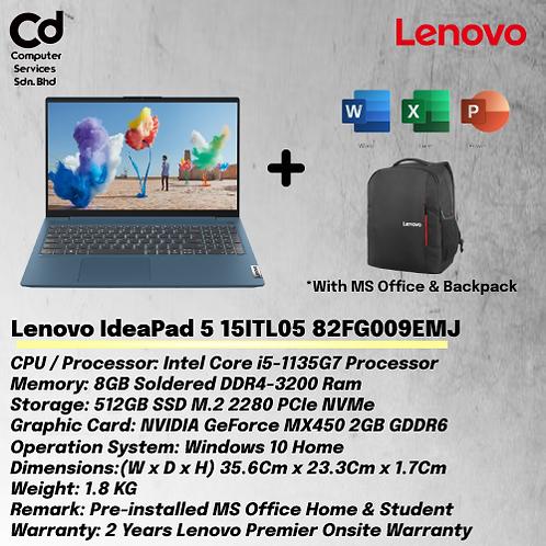 Lenovo IdeaPad 5 15ITL05 82FG009EMJ