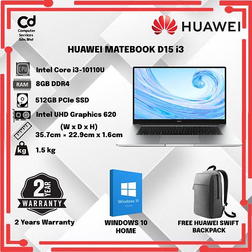 Huawei MateBook D15 i3
