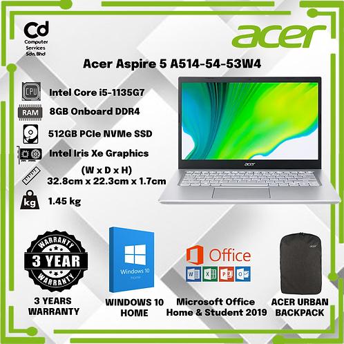 Acer Aspire 5 A514-54-53W4 Sakura Pink