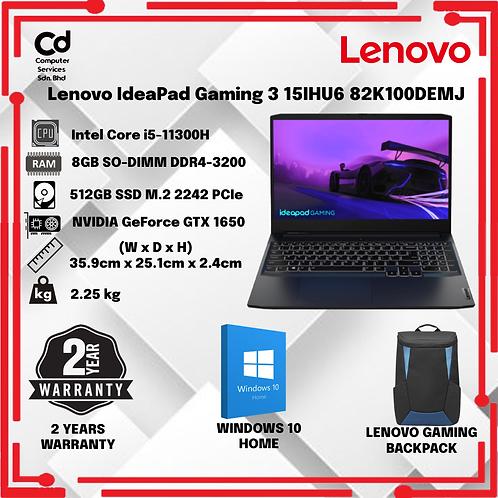 Lenovo IdeaPad Gaming 3 15IHU6 82K100DEMJ