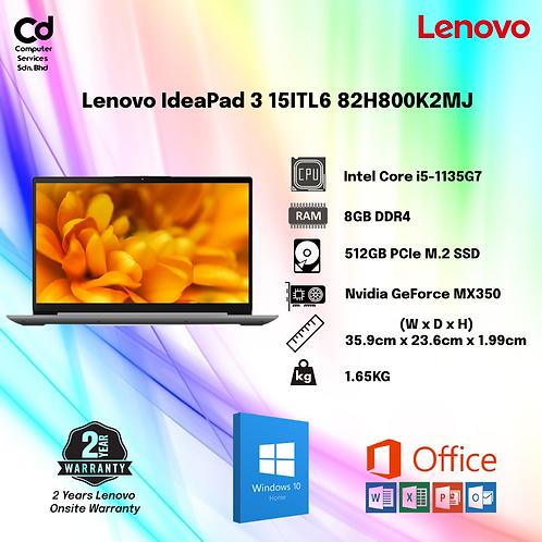 Lenovo IdeaPad 3 15ITL6 82H800K2MJ / 82H800HPMJ