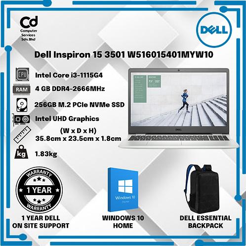 Dell Inspiron 15 3501 W516015401MYW10