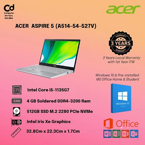 ACER ASPIRE 5 A514-54-527V LAPTOP CHARCOAL BLACK