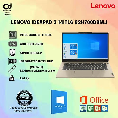 Lenovo IdeaPad 3 14ITL6 82H700D7MJ / 82H700D9MJ 14'' FHD