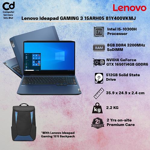 Lenovo IdeaPad Gaming 3 15IMH05 81Y400VKMJ