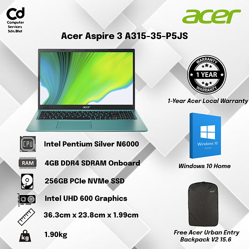 Acer Aspire 3 A315-35-P5JS