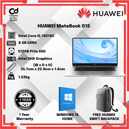 HUAWEI MateBook D15 i5