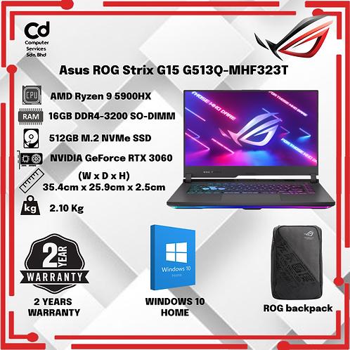 Asus ROG Strix G15 G513Q-MHF323T 15.6'' FHD IPS 300Hz Gaming Laptop
