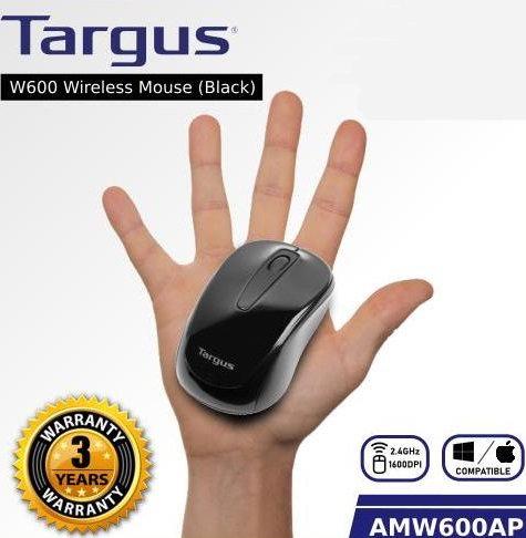 Targus W600 Wireless Optical Mouse Black