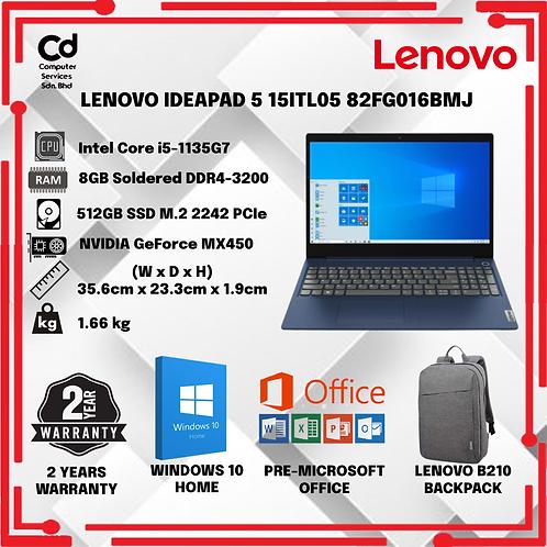 LENOVO IDEAPAD 5 15ITL05 82FG016BMJ