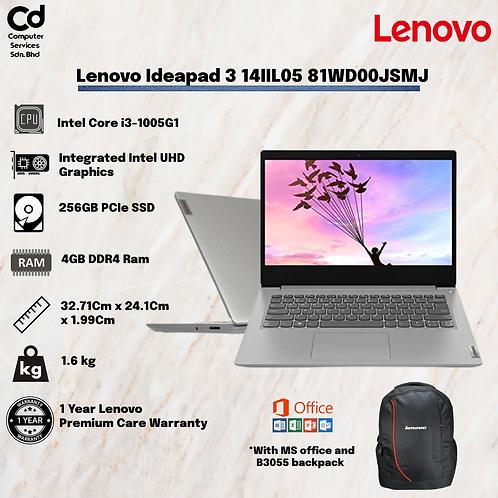 Lenovo IdeaPad 3 14IIL05 81WD00JSMJ
