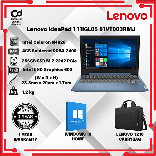 Lenovo IdeaPad 1 11IGL05 81VT003RMJ