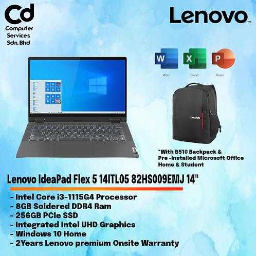 Lenovo IdeaPad Flex 5 14ITL05 82HS009EMJ