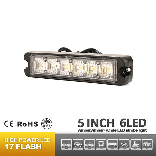 6 LED Surface Mount Warning Light 12V 24V N185-6